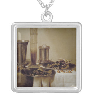 The Dessert, 1637 Silver Plated Necklace