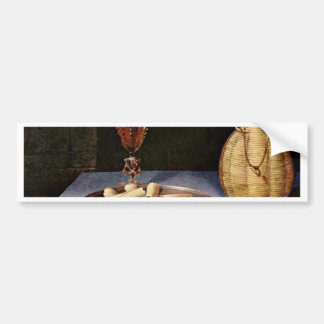 The Dessert,  By Baugin Lubin (Best Quality) Car Bumper Sticker