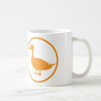 "The ""destroyer of quackery""-badge coffee mug"