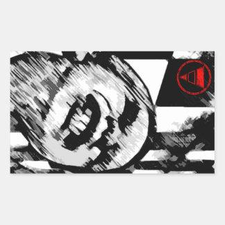 The Destroyer Rectangular Sticker