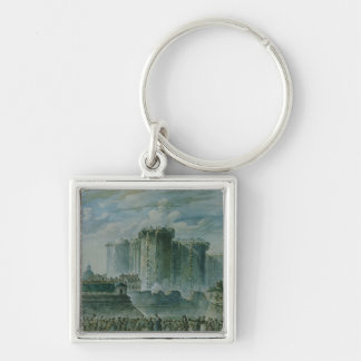 The Destruction of the Bastille, 14th July 1789 Keychain