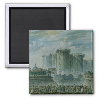 The Destruction of the Bastille, 14th July 1789 Magnet