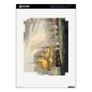The Destruction of the Danish Fleet before Copenha iPad 3 Skin