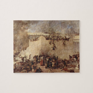 The Destruction Of The Temple Of Jerusalem Jigsaw Puzzle
