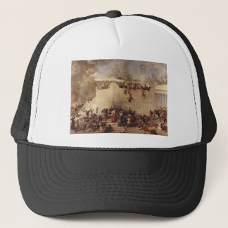 The Destruction Of The Temple Of Jerusalem Trucker Hat