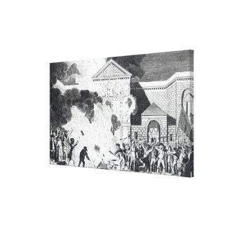 The Devastations occasioned Canvas Prints