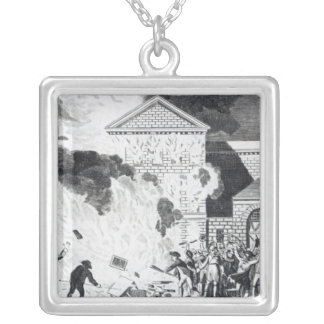 The Devastations occasioned Square Pendant Necklace