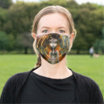 The Devil dark art by Jasmine Becket-Griffith Cloth Face Mask
