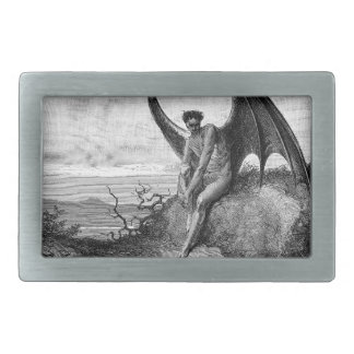 The Devil, Gustave Dore Belt Buckle