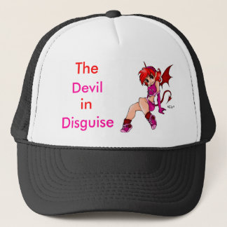 The devil in disguise trucker hat