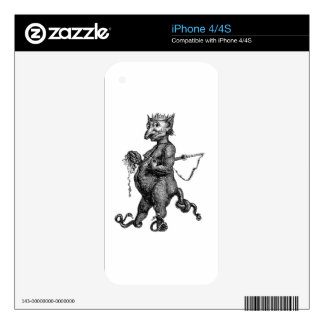 The Devil iPhone 4 Decal