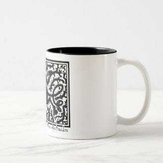 The Devil is in the Details Two-Tone Coffee Mug