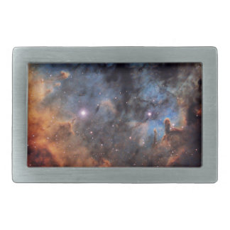 The Devil Nebula Rectangular Belt Buckle
