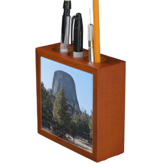 The Devil's Tower National Monument photo Desk Organizers