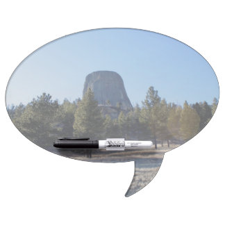 The Devil's Tower National Monument photo Dry Erase White Board