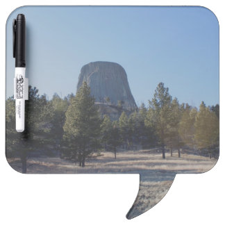 The Devil's Tower National Monument photo Dry Erase Whiteboard