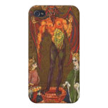 The Devil Tarot Card iPhone 4 Cover