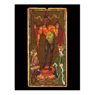 The Devil Tarot Card Post Cards