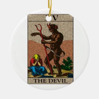 The Devil - Tarot Ceramic Ornament