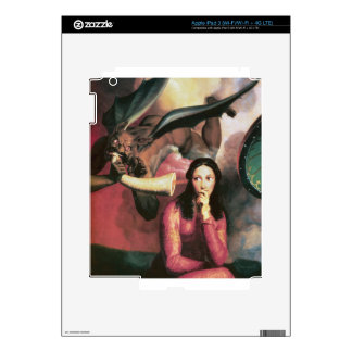 The Devil Tempting a Young Woman iPad 3 Skin