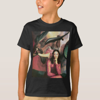 The Devil Tempting a Young Woman T-Shirt