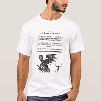 The Devil turn'd Round-Head', c.1642 T-Shirt