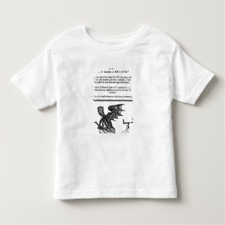 The Devil turn'd Round-Head', c.1642 Toddler T-shirt
