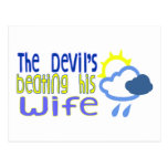 The Devil's Beating His Wife Postcards