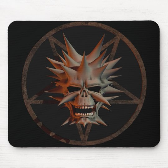 The Devils Door Creepy  Mousepad