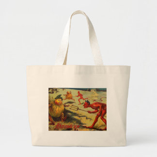 The Devil's Halloween Large Tote Bag
