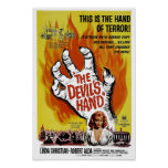 """""""The Devil's Hand"""" Poster"""