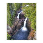 The Devil's Kettle Waterfall Gallery Wrap Canvas