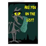 the Devil's List Card