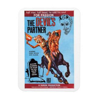 """""""The Devil's Partner"""" Magnet"""