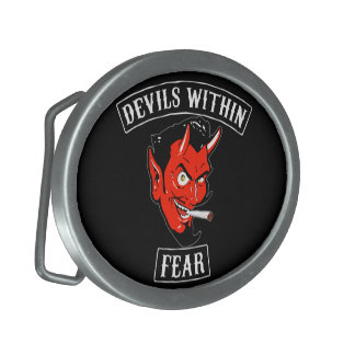 The Devils Within Belt Buckle