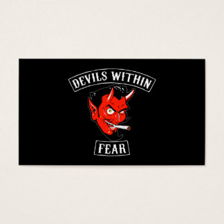 The Devils Within Buisnes Card