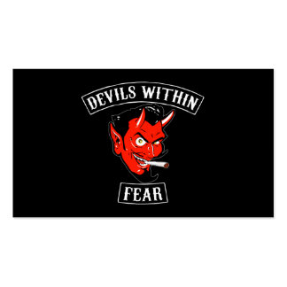 The Devils Within Buisnes Card Business Card