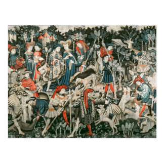 The Devonshire Hunting Tapestries Postcard