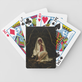 """""""The Devout"""" Bicycle Card Template Card Deck"""