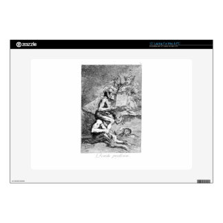 The Devout Profession by Francisco Goya Decals For Laptops