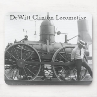 The DeWitt Clinton Locomotive Mouse Pad