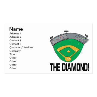 The Diamond Business Card Templates