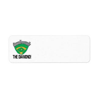 The Diamond Custom Return Address Labels