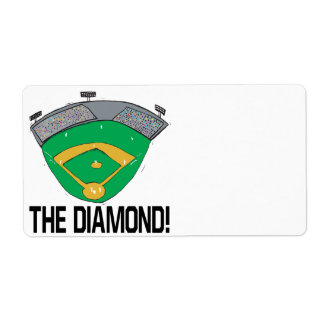 The Diamond Shipping Label