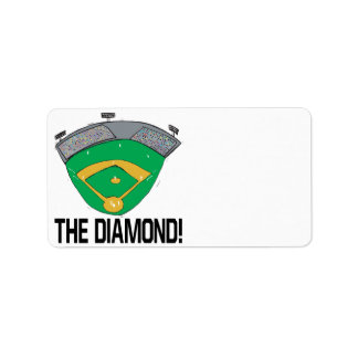The Diamond Custom Address Label