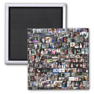 The Diana Collection 2 Inch Square Magnet