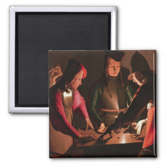 The Dice Players Magnet