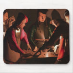 The Dice Players Mouse Pad
