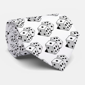 "THE ""DICE TIE"" NECK TIE"