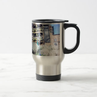 The Dickens Inn Pub London Art Travel Mug